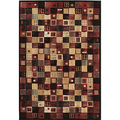 Central Oriental Radiance - Domino 6 x 9 Domino Red 2006RD-69