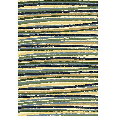 Central Oriental Inspirations - Fiesta Stripe 7 x 11 Fiesta Stripe Blue 8705BL-92