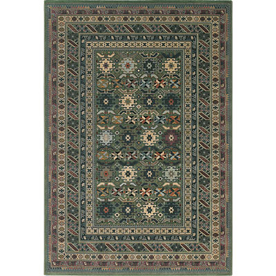 Central Oriental Images - Geometric 8 x 11 Geometric Sea Green 6585.31-70