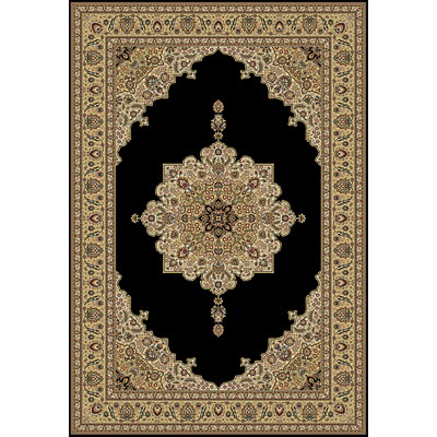 Central Oriental Infinity - Medallion 10 x 4 Medallion Black 4903.81-14