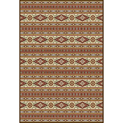 Central Oriental Legends - Medici Stripe 7 x 11 Medici Stripe Multi 8603MI-92