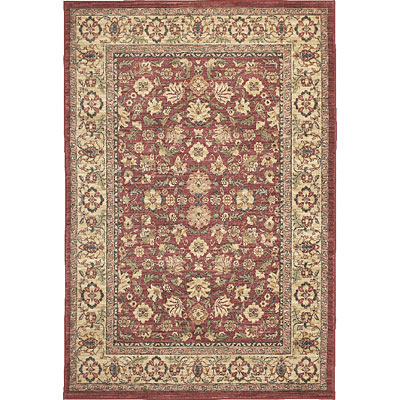 Central Oriental Platinum - Palampore 10 x 13 Palampore Red 1044RD-13