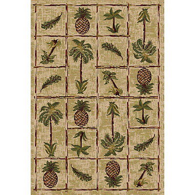 Central Oriental Canyon - Palm Panel 5 x 8 Palm Panel Beige 8008BG69