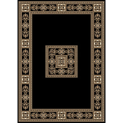 Central Oriental Reflections - Chateau 4 x 6 Chateuax Black 2022BK-46