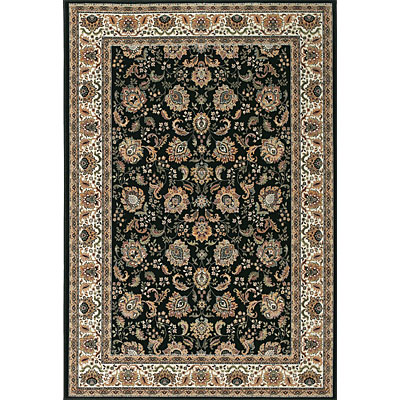 Central Oriental Radiance - Regency 7 x 10 Oval Regency Black 2001BK-7V