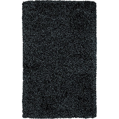 Central Oriental Shaggy 5 x 8 Shaggy Black 6221.81-55