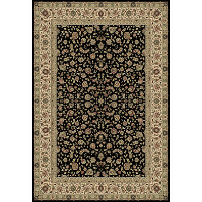Central Oriental Traditions - Tabriz 5 Round Tabriz Classic Black 5507.81-63