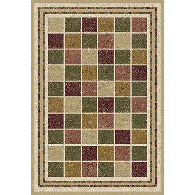 Central Oriental Canyon - Town Square 7 x 11 Town Square Beige 8019BG-81