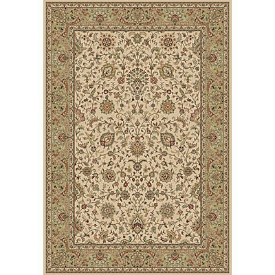 Central Oriental Traditions Isphahan 10 x 13 Isphahan Classic Ivory/Green 5505.16-85