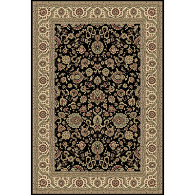 Central Oriental Traditions Kashan 6 Round Kashan Classic Black 5501.81-63