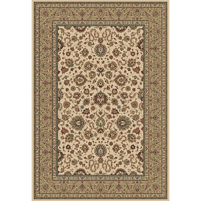 Central Oriental Traditions Kashan 8 x 11 Kashan Classic Ivory/Green 5501.16-70