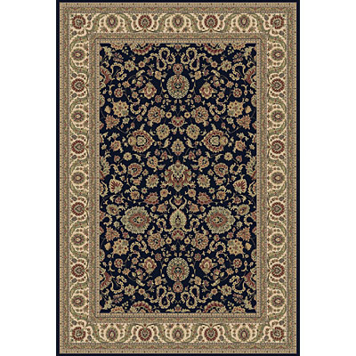 Central Oriental Traditions Kashan 7 Round Kashan Classic Navy 5501.42-73