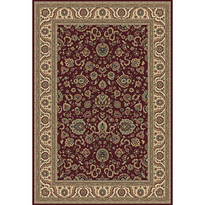 Central Oriental Traditions Kashan 5 x 8 Kashan Classic Red 5501.21-60