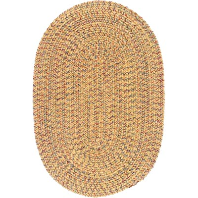 Colonial Mills, Inc. Adams 10 X 13 Oval Evergold Mix AM30
