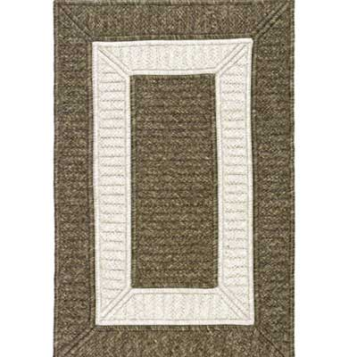Colonial Mills, Inc. Cornucopia 6 x 6 Square Border In Border CB