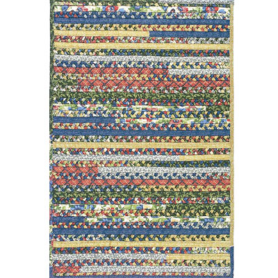 Colonial Mills, Inc. Cottage Comfort 2 x 4 Rectangle Wild Flower TC37