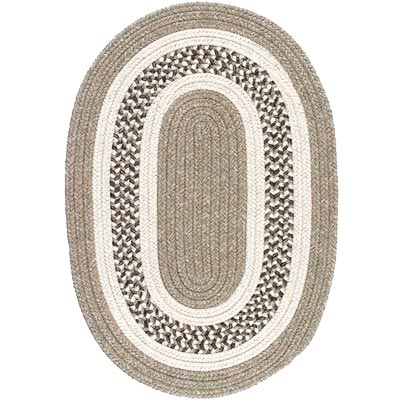 Colonial Mills, Inc. Jefferson 10 X 13 Oval Beige J801