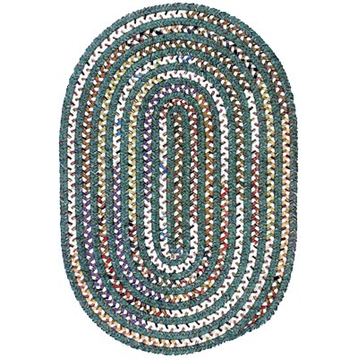Colonial Mills, Inc. Montage 8 X 11 Oval Mytrle Green MT60