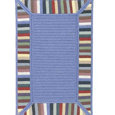 Colonial Mills, Inc. Reflections 12 x 15 Multi Border RF