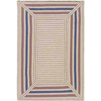 Colonial Mills, Inc. Simply Home Rectangle 5 x 5 Pinstripe Border PB