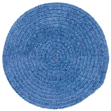 Colonial Mills, Inc. Spring Meadow 8 X 8 Round Petal Blue S501