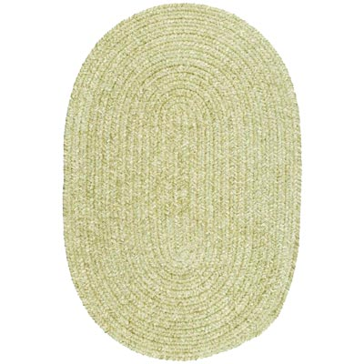 Colonial Mills, Inc. Spring Meadow 10 X 13 Oval Sprout Green S601