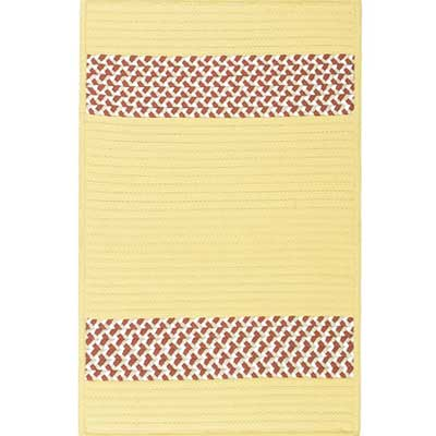 Colonial Mills, Inc. Sunbraid 8 x 8 Square Pale Banana SU37