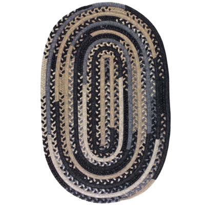 Colonial Mills, Inc. Timeless Retreat Oval 6 x 9 Carbon TR90
