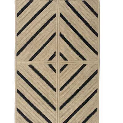 Colonial Mills, Inc. Ventura 8 x 8 Square Diamond Stripe VD
