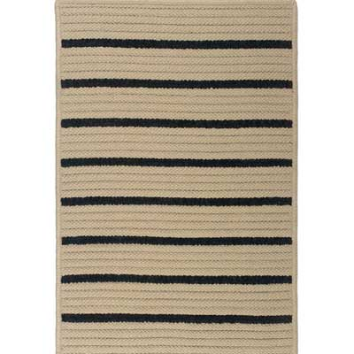 Colonial Mills, Inc. Ventura 8 x 8 Square Wide Textured Stripe VW