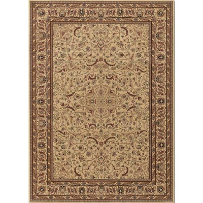 Couristan Anatolia 8 x 11 Medallion Ispaghan Cream 3868/0001