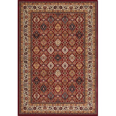 Couristan Anatolia 10 x 13 Persian Sarouk Red 2776/0776
