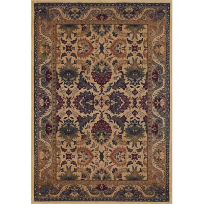 Couristan Anatolia 8 x 11 Royal Plum Cream Plum 2715/0706