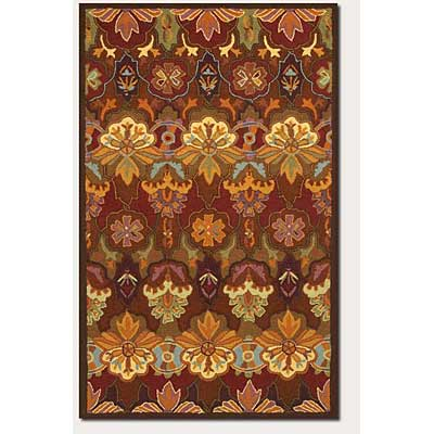 Couristan Applique 4 x 5 Orange Blossom 6073/0611