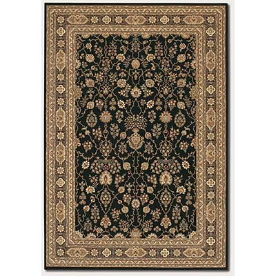 Couristan Chanterelle 9 x 13 Sarouk Black 1718/0004