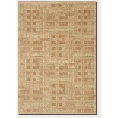 Couristan Charisma 8 x 11 Abstract Gingham Ivory Beige 4363/0506
