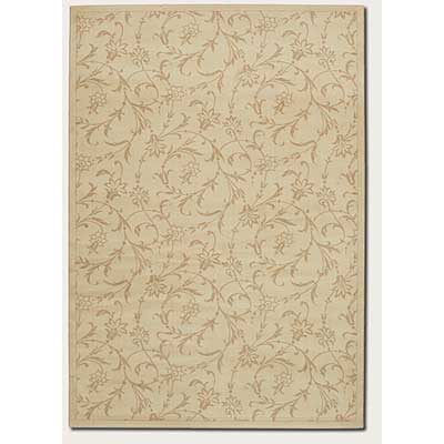 Couristan Charisma 4 x 5 Vineyard Ivory 4366/0501