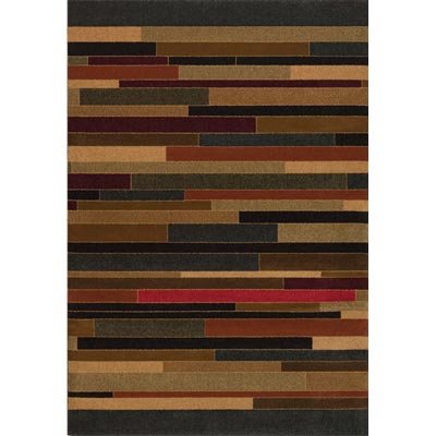 Couristan Contempo 8 x 11 Tetris Multi Color 2062/0062