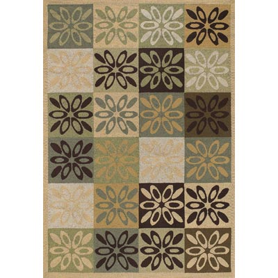 Couristan Covington 4 x 6 Dixie Multi Color 2107/1007