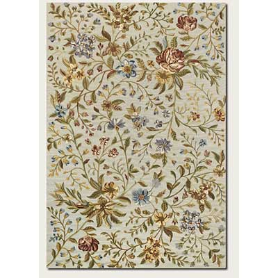Couristan Eden 10 x 14 Spring Blooms Ivory 0231/0031