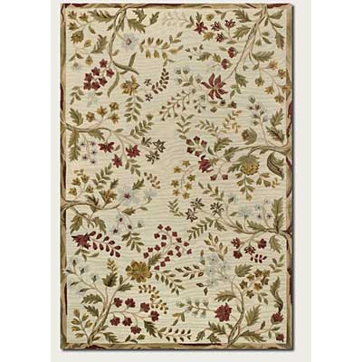 Couristan Eden 10 x 14 Summer Vines Ivory 0230/0030