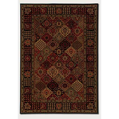 Couristan Everest 5 x 8 Antique Baktiari Midnight 3721/4876