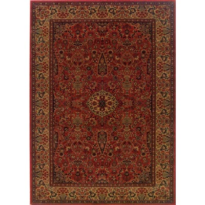 Couristan Everest 8 Square Ardebil Crimson 3760/4872