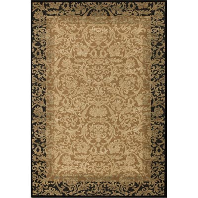 Couristan Everest 5 x 8 Fontana Gold Black 1284/4898