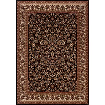 Couristan Everest 5 x 8 Isfahan Black 3791/6025
