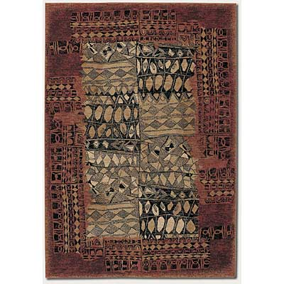 Couristan Everest 2 x 8 Runner Magellan Brown Sienna 0892/6120