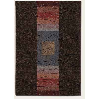 Couristan Everest 2 x 8 Runner Montage Chocolate 1573/3733