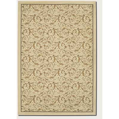 Couristan Everest 5 x 8 Royal Scroll Antique Linen 2863/0618