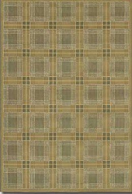 Couristan Everest 5 x 8 Royal Tartan Classic Ivory 2830/6489
