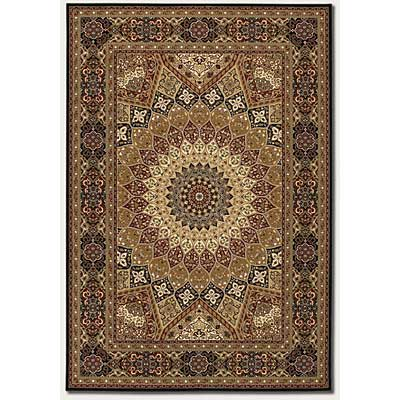 Couristan Everest 2 x 4 Sarouk Center Medallion 1281/6536